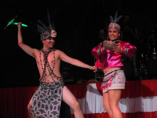 Danza Cuadro Amazonico Selva Peru